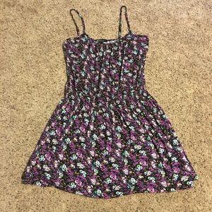F21 Flower stretch dress